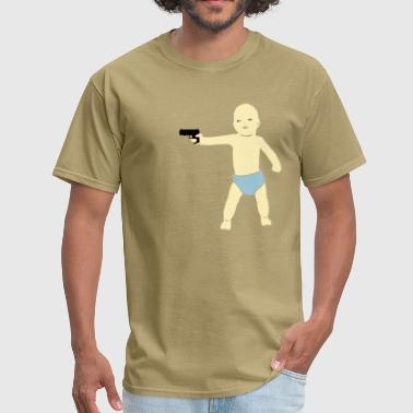 Threaten baby gun - Men's T-Shirt