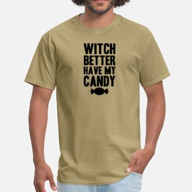 Spooky Bitch bitch better have my money - Men's T-Shirt