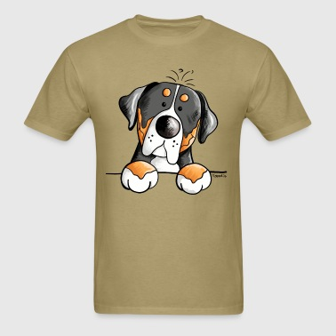 Cute Greater Swiss Mountain Dog - Gift  - Men's T-Shirt