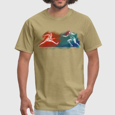 fencing - Men's T-Shirt