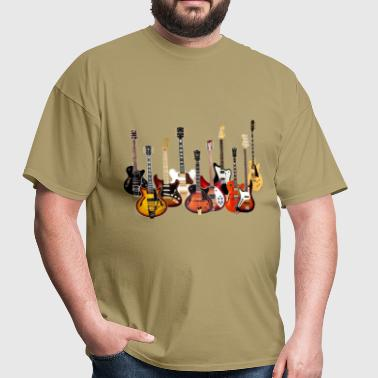 electric guitars - Men's T-Shirt