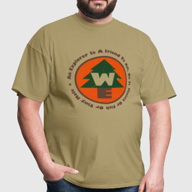 Wilderness Explorers Badge - Men's T-Shirt