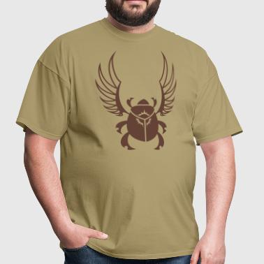 Black Sun Scarab Beetle - Men's T-Shirt