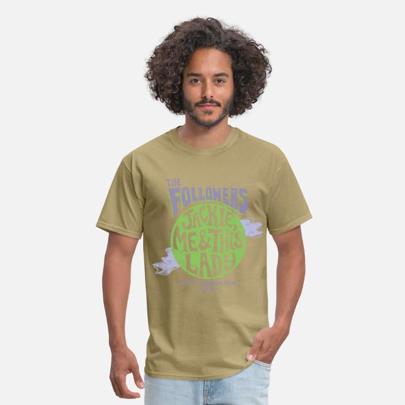 Heart T-Shirts - Men's The Followers Shirt - Men's T-Shirt khaki