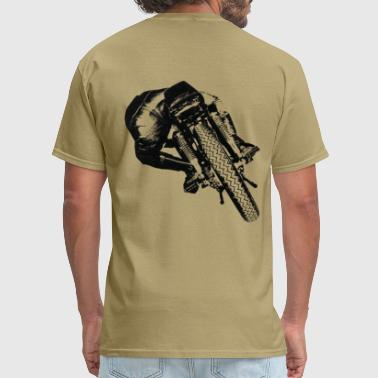 Cafe Racers Cafe Racer rear view for light material - Men's T-Shirt