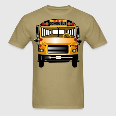 School Bus - Men's T-Shirt