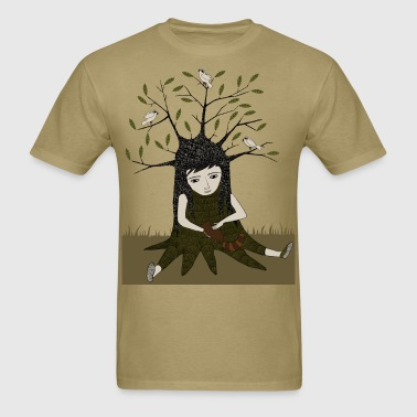 with nature - Men's T-Shirt