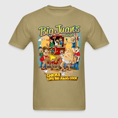 Big Juan's Cock Fight - Men's T-Shirt