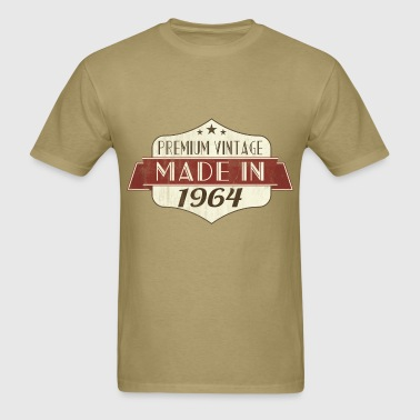 Vintage 1964 50th Birthday - Men's T-Shirt