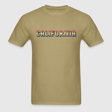 Retro California - Men's T-Shirt