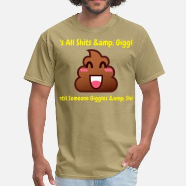 Poop Emoji Poop - Men's T-Shirt