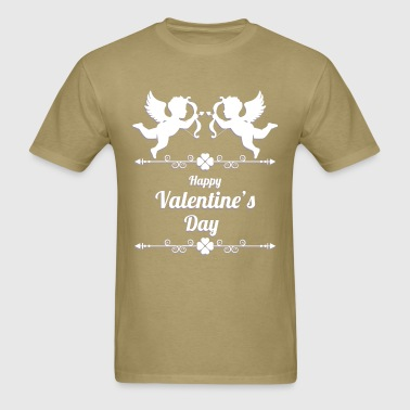 valentines day 2 cupid - Men's T-Shirt