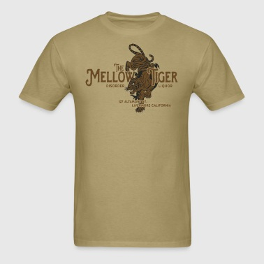 Mellow Tiger Bar - Men's T-Shirt