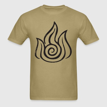 Fire Bender - Men's T-Shirt
