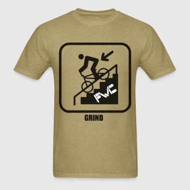 icono_grind_with_fwc - Men's T-Shirt