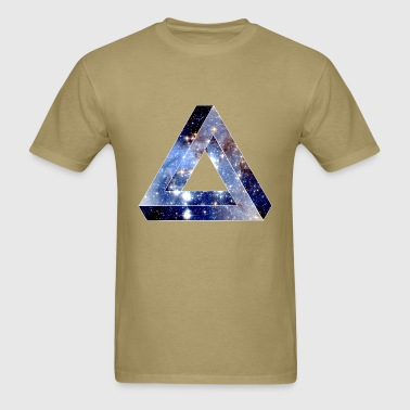 Penrose Triangle Hipster - Men's T-Shirt