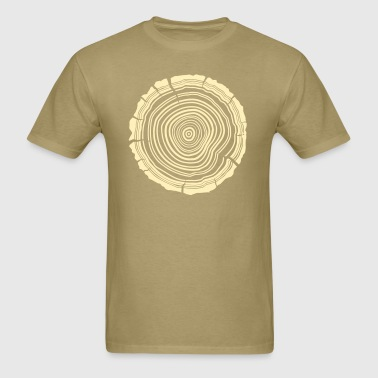 Tree Rings - Men's T-Shirt