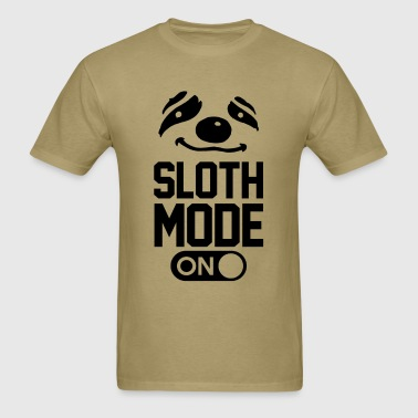 sloth_mode_on - Men's T-Shirt