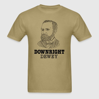 Downright Dewey - Men's T-Shirt
