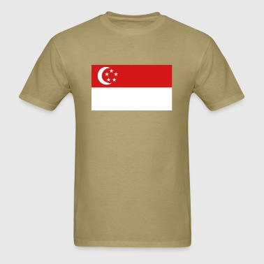 Flag of Singapore - Men's T-Shirt