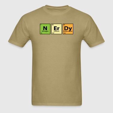 Periodic Table Nerdy - Men's T-Shirt