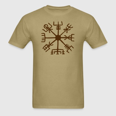 Vegvisir, Magical Runes, Protection & Navigation - Men's T-Shirt