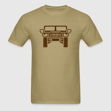 Hummer/Humvee illustration - Men's T-Shirt