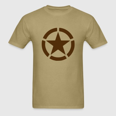 Army star - Men's T-Shirt