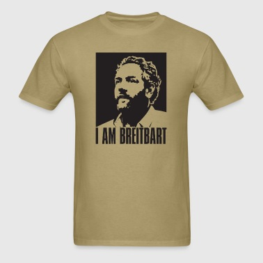 I am Breitbart - black - Men's T-Shirt