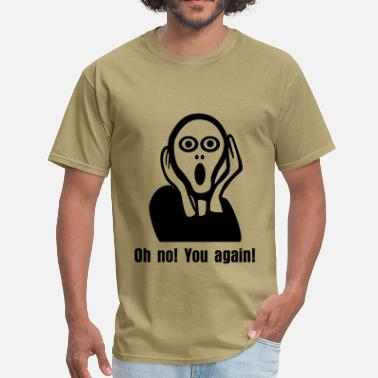 Scream The Scream, shock - Men's T-Shirt