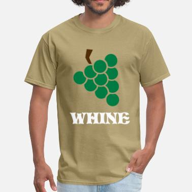 Wine Grape Grape - Bunch of grapes - Wine - Men's T-Shirt