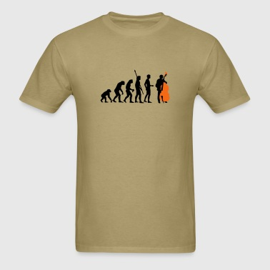 evolution_bass_2c - Men's T-Shirt