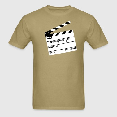 clapperboard (writable flex) - Men's T-Shirt