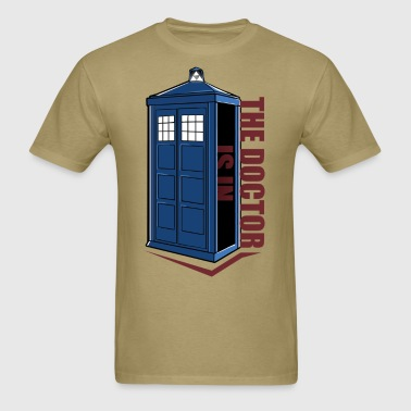 The Doctor Is In Box - Men's T-Shirt