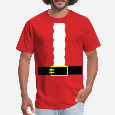 Kid Robot Funny Christmas Santa Costume T-Shirt - Men's T-Shirt