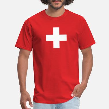 Swiss Cross Proud Swiss National Holiday Eidgenosse - Men's T-Shirt