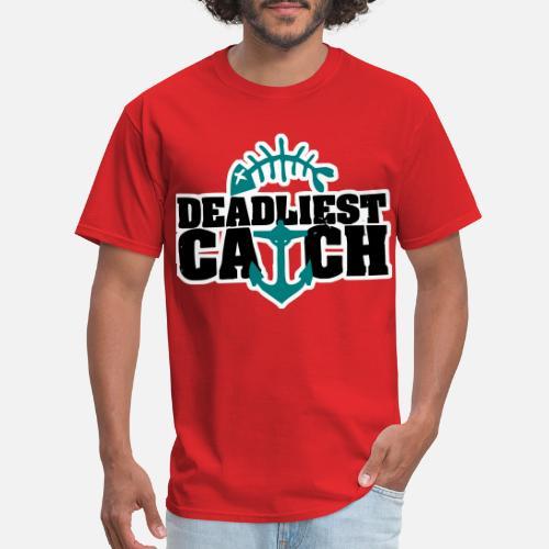1aaf54faa53c6 Gone Fishing Foamposite Deadliest Catch Men s T-Shirt
