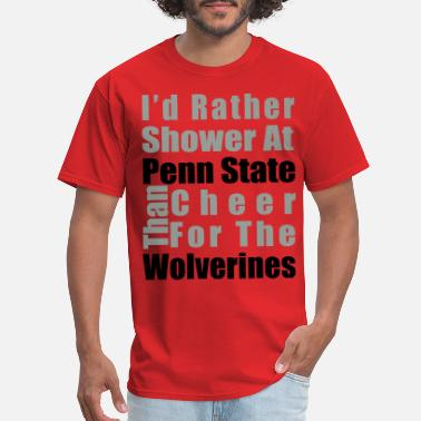 0612957a0 Michigan Sucks I'd rather shower - Men's T. Men's T-Shirt