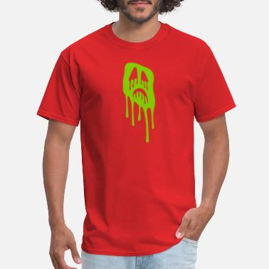 Monster Slimy slimy grimace - halloween - Men's T-Shirt