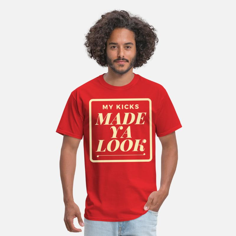 Sneakerhead T-Shirts - made_ya_look - Men's T-Shirt red