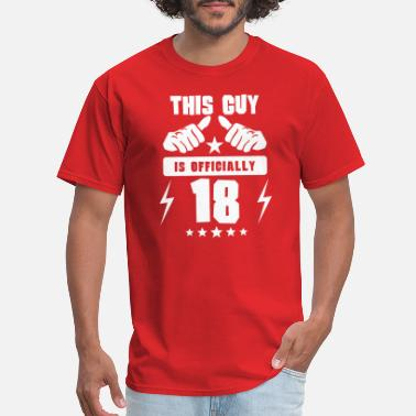 Officially 18 This Guy Is Officially 18 - Men's T-Shirt