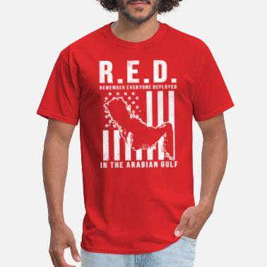 Friday RED Friday Remember Everyone Deployed in the - Men's T-Shirt