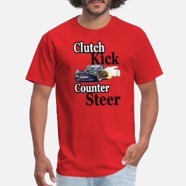 Clutch Kick clutch kick counter steer drift - Men's T-Shirt