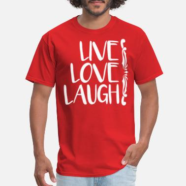 Love Laugh live love laugh - Men's T-Shirt