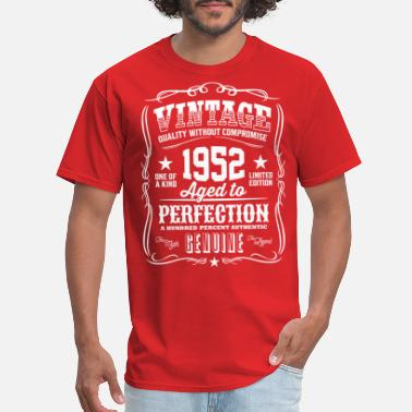 Aged Vintage 1952 Aged to Perfection - Men's T-Shirt