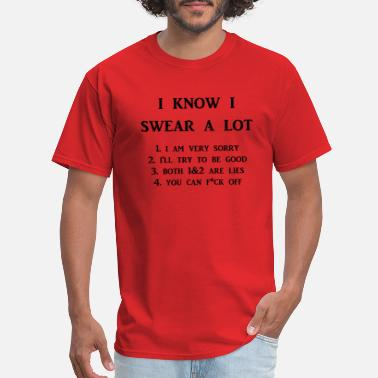 I Swear To swear - Men's T-Shirt