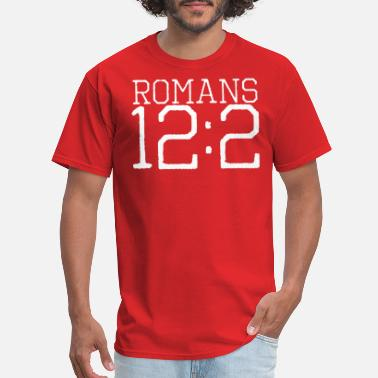 Do Not Conform Romans 12:2 bible verse - Men's T-Shirt
