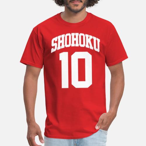 97f5d65c40ff Shohoku 10 Shirt Men s T-Shirt