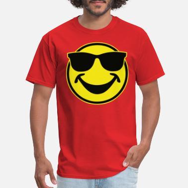 3e0fc0ebb72c COOL yellow SMILEY BRO with sunglasses - Men's ...