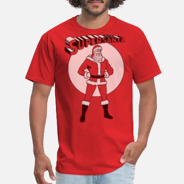 Santa Claus Supersanta - Men's T-Shirt